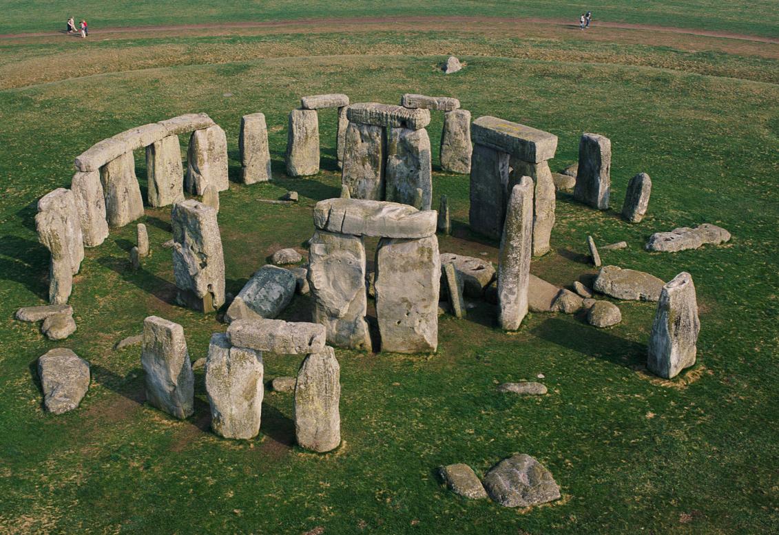 İngiltere'de Bulunan Stonehenge Taşları