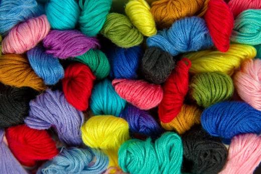 İplik endüstrisinde kullanılan tekstil (sentetik) boyaları