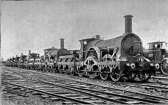 İngiltere'deki trenler