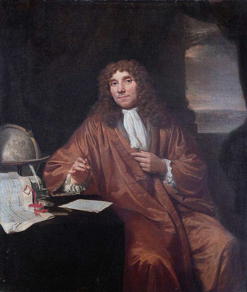 Mikroskop Mikroskobu bulan Anton van Leeuwenhoek,