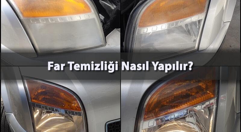 Otomobil Far İçi Nasıl Temizlenir