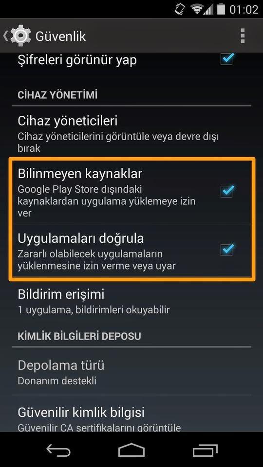 Apk nasıl yüklenir google play store dışında uygulama yüklemek